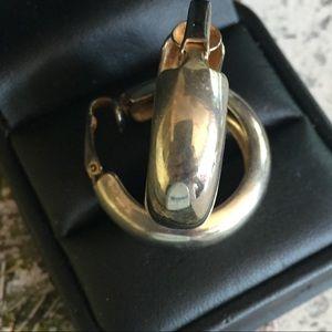VTG Silver Hoop Earrings